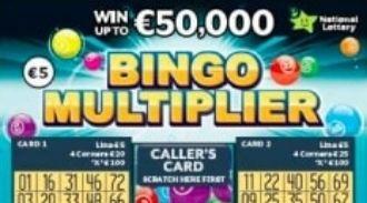 Bingo Multiplier Irish Scratchcard Thumbnail