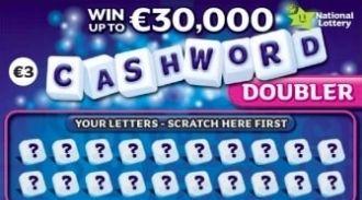 Cashword Doubler Irish Scratchcard Thumbnail