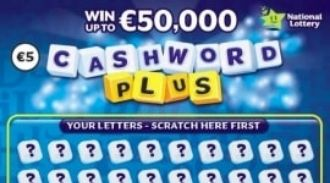 Cashword Plus Irish Scratchcard Thumbnail