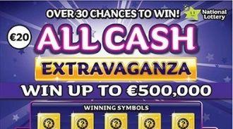 All Cash Extravaganza Irish Scratchcard Thumbnail