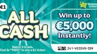 All Cash Irish Scratchcard Thumbnail