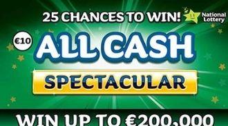 All Cash Spectacular Irish Scratchcard Thumbnail
