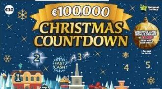 Christmas Countdown 2019 Irish Scratchcard Thumbnail