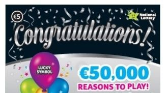 Congratulations Irish Scratchcard Thumbnail