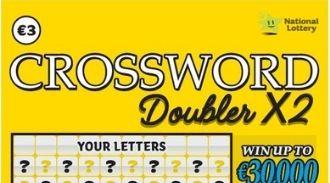 Crossword doubler x2 Irish Scratchcard Thumbnail