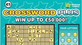 Crossword plus Irish Scratchcard Thumbnail