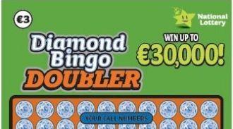 Diamond Bingo Doubler Irish Scratchcard Thumbnail