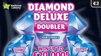 Diamond Deluxe Doubler Irish Scratchcard Thumbnail