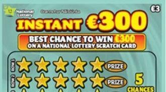 Instant €300 Irish Scratchcard Thumbnail