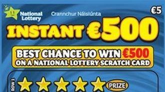 Instant €500 Irish Scratchcard Thumbnail