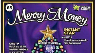 Merry Money 2019 Irish Scratchcard Thumbnail