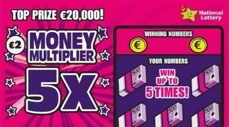 Money Multiplier 5X Irish Scratchcard Thumbnail