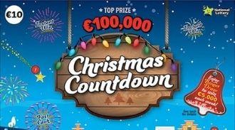 Christmas Countdown 2020 Irish Scratchcard Thumbnail