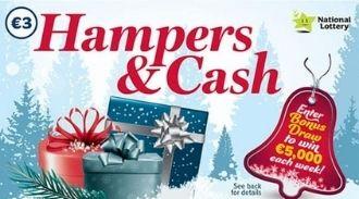 Hampers & Cash Irish Scratchcard Thumbnail
