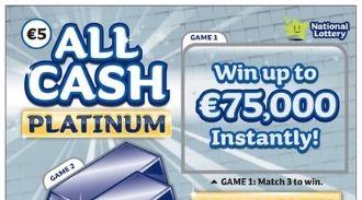 All Cash Platinum Silver Scratchcard Thumbnail