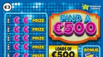 Find a €500 Scratchcard Thumbnail