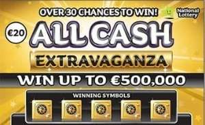 All Cash Extravaganza Gold Scratchcard Featured Image